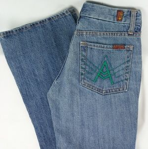 "7FAM ///  ""A"" pocket Boot Cut Jeans"